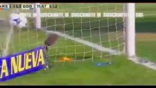 Gol de Santiago Garcia - Arsenal 0 - 1 Godoy Cruz - Torneo de Argentina 2017