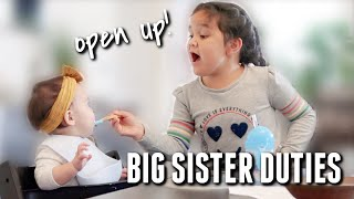 Big Sister Duties - itsjudyslife