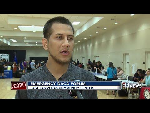 Emergency DACA forum held in East Las Vegas