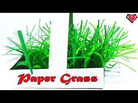 How To Make Grass With Paper Easy | DIY home decor idea || Easter Basket Grass
