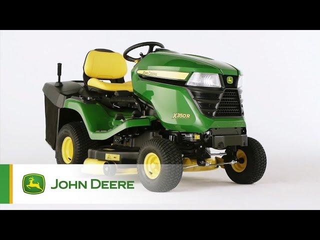 Nowość: Traktorek ogrodowy John Deere X350R