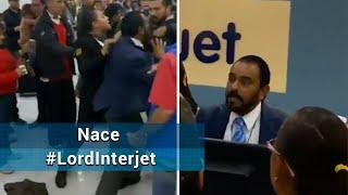 Surge LordInterjet tras pelear con pasajero; aerolínea ya investiga