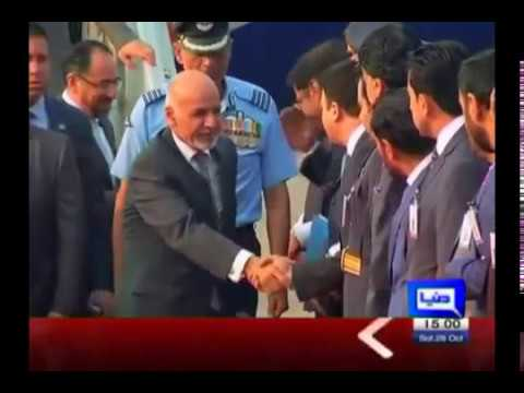 Afghan President Ghani lands in New Delhi, meets Indian foreign minister Dunya News