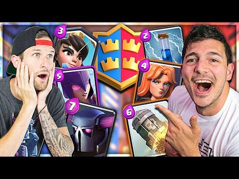 EVEN ODD 2V2 - MOLT & NICK - Clash Royale