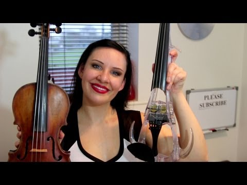 ELECTRIC Violin / ACOUSTIC Violin Differences & Review