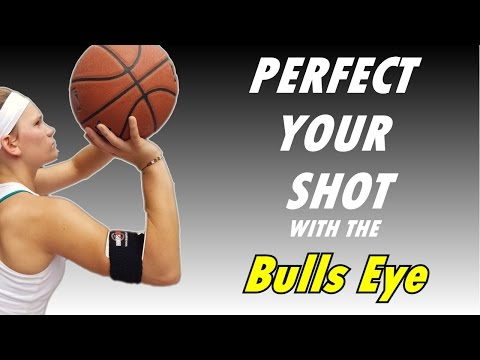 Develop Perfect Basketball Shooting Form With The Bulls Eye Training Aid