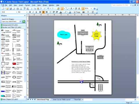 Visio 2007 - Linking to Other Pages & Shapes