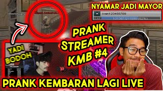 PRANK KEMBARAN LAGI LIVE STREAMING?! DIKENALIN ENGGA YA?! // Gameplay Point Blank Zepetto Indonesia