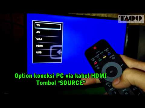 Philips LED TV 24PHA4110S - Review Indonesia Campur Jawa