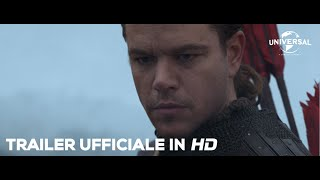 THE GREAT WALL di Zhang Yimou con Matt Damon - Trailer italiano ufficiale