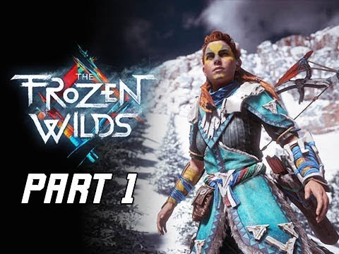 Horizon Zero Dawn The Frozen Wilds Gameplay Walkthrough Part 1- Daemonic Beasts (PS4 Pro DLC)