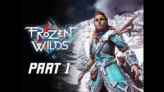 Horizon Zero Dawn The Frozen Wilds Gameplay Walkthrough Part 1- Daemonic Beasts (PS4 Pro DLC)