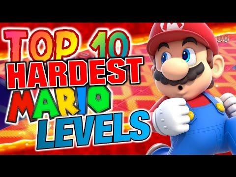 Top 10 - Hardest Mario Levels
