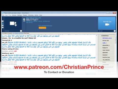 Debate - MuslimDaee Vs. Christian Prince on PalTalk