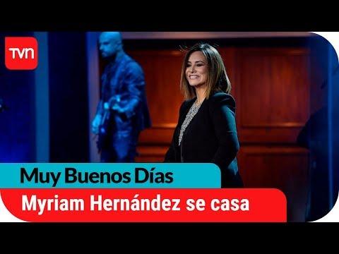 ¡Myriam Hernández se casará por segunda vez!  | Muy buenos días
