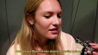 Candice Swanepoel entrevista com iG