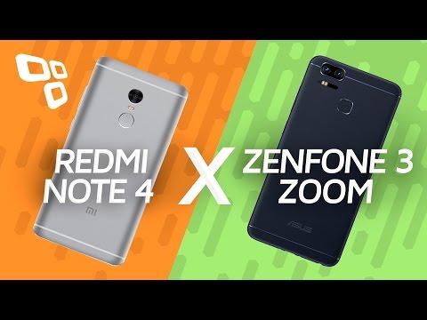 Xiaomi Redmi Note 4 Vs. Asus Zenfone 3 Zoom - Comparativo -TecMundo]