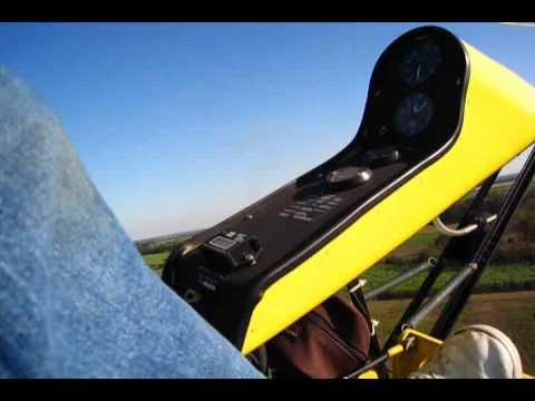 Flying my Bensen gyrocopter
