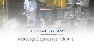 nettoyeur vapeur industriel avec