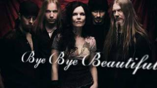 Nightwish-Bye bye beautiful!(Karaeoke)