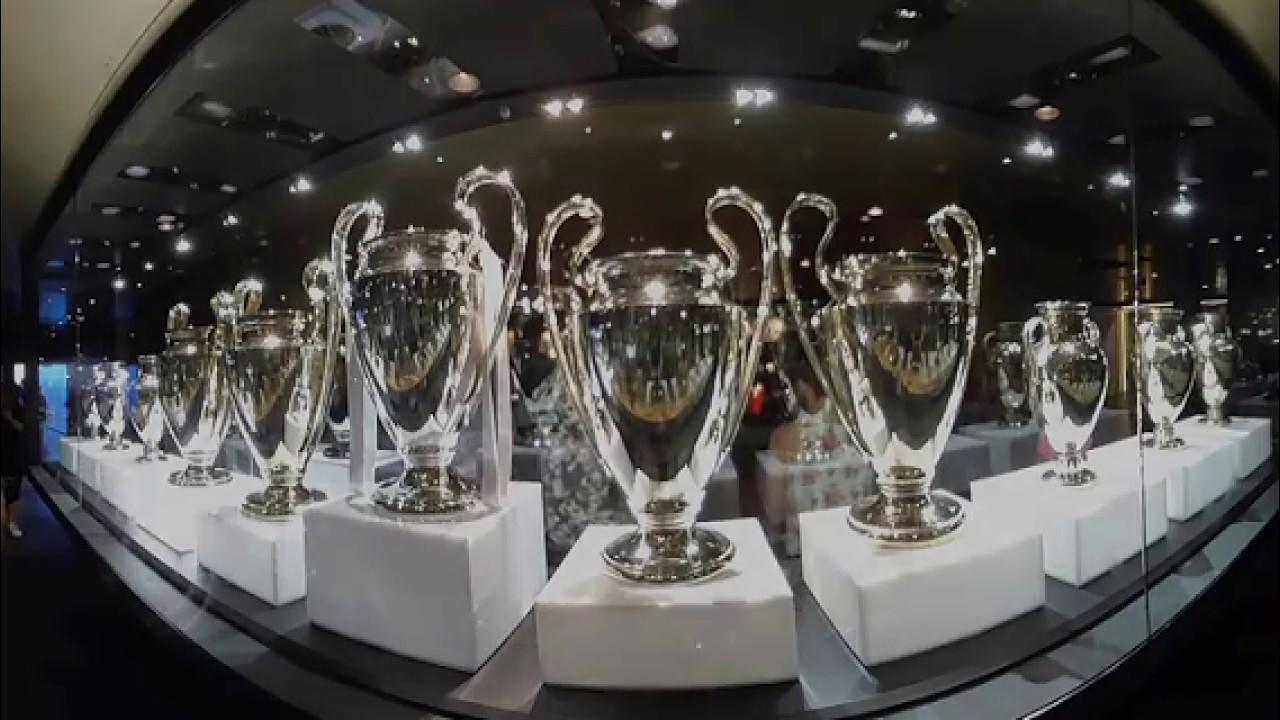 Museo Real Madrid.Museo Real Madrid En 360