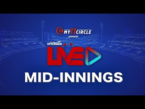 Cricbuzz LIVE: Match 38, England V India, Mid-innings Show