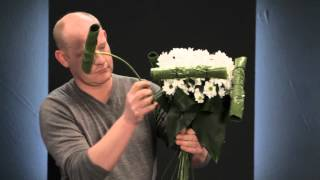 Chrysanthemum workshop by top florist Ruud Hazelaar