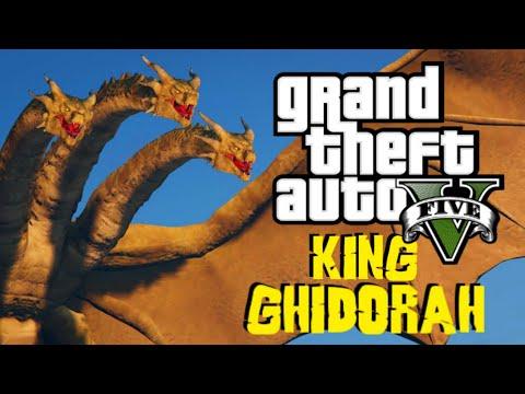 King Ghidorah Mod   GTA 5 Moment Lucu (Bahasa Indonesia)