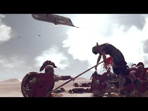 Total War ROME 2(Моды) кровавые анимации (часть2)