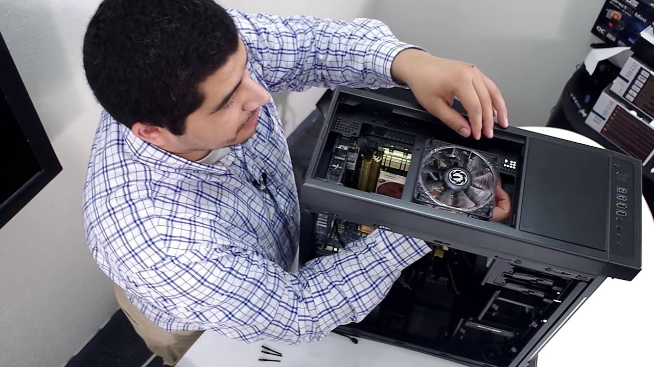 How to install case fans youtube for Way back house music