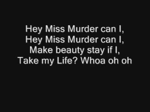 Miss Murder lyrics A.F.I