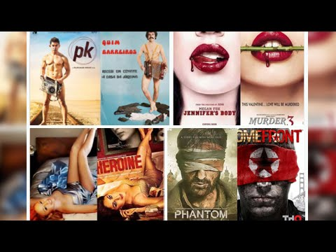 Bollywood Film Posters that are Copied from Hollywood