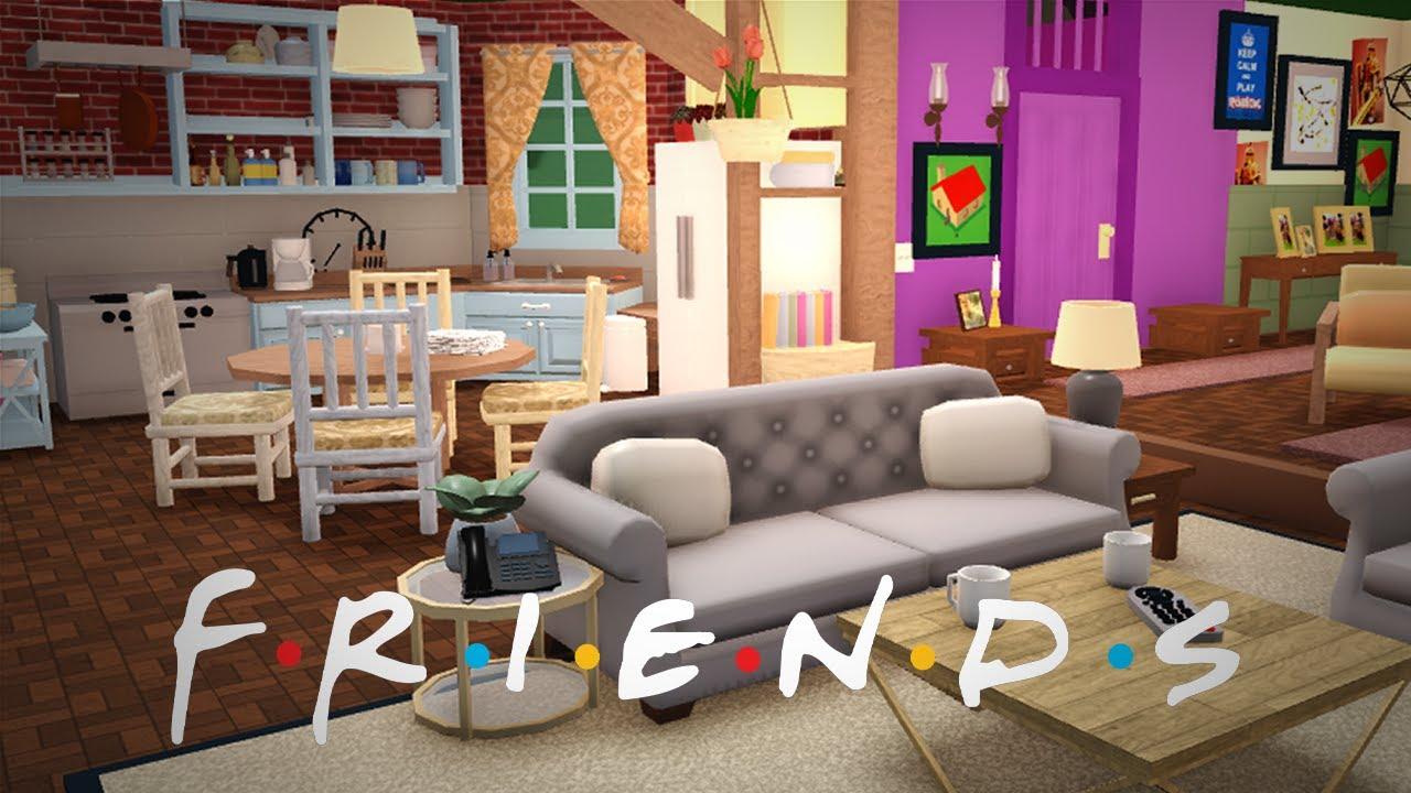 Download rebuilding MONICA'S APARTMENT from FRIENDS (bloxburg)