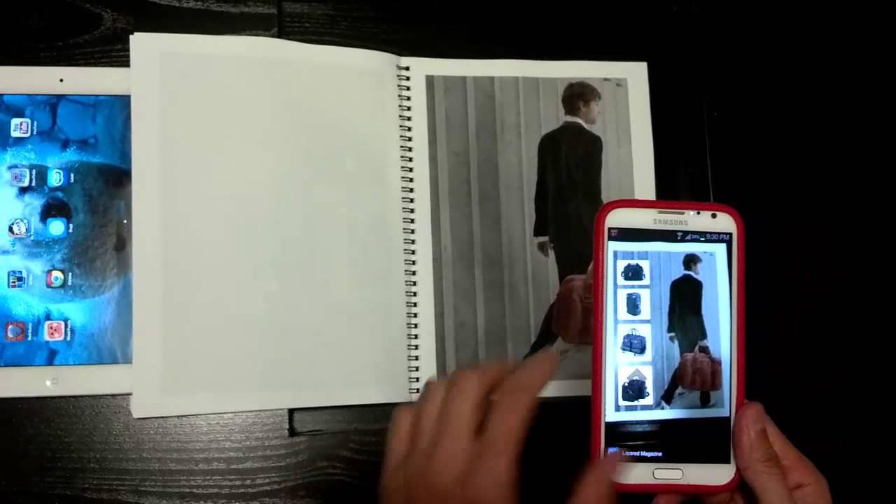 Muestra Realidad Aumentada en Layar - Demo - YouTube