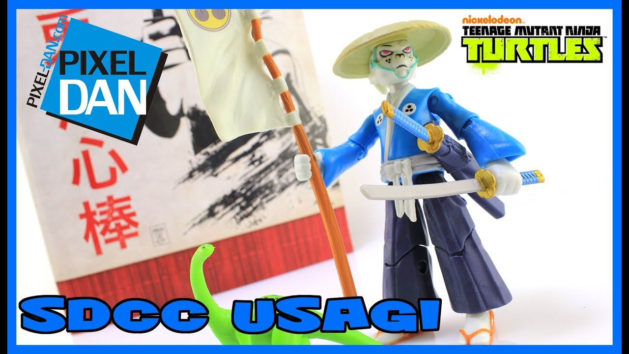 Usagi Yojimbo Sdcc 2017 Exclusive Teenage Mutant Ninja Turtles