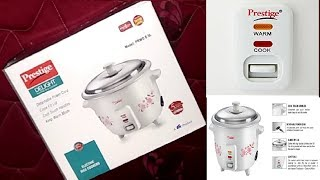 Prestige Delight Electric Rice Cooker PRWO 0.5 unboxing ||My First Income From YouTube