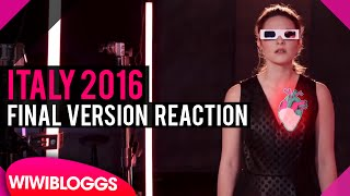 """Italy 2016: Final Eurovision version of """"No Degree of Separation"""" released 