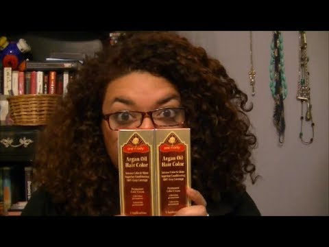 Awkward Reveiws One N Only Argan Oil Hair Color Youtube