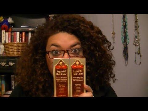Awkward Reveiws: One 'n Only Argan Oil Hair Color - YouTube