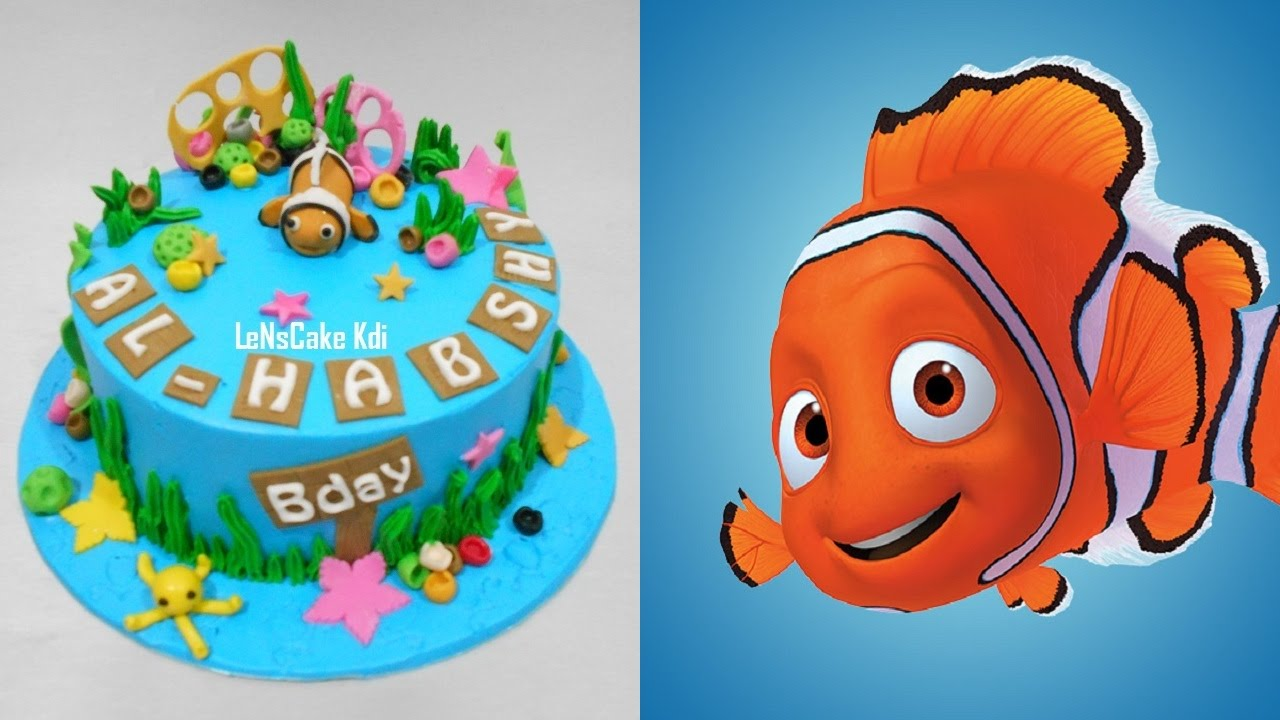 Nemo Cake Tutorial Easy