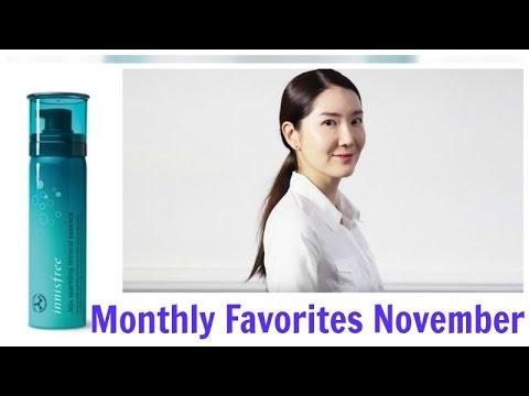 Monthly Favorites November 2016   Review on Innisfree Jeju Sparkling Mineral Essence