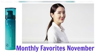 Monthly Favorites November 2016 | Review on Innisfree Jeju Sparkling Mineral Essence