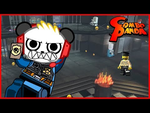 Lego City Undercover Let's Catch the bad guys with Combo Panda!!!