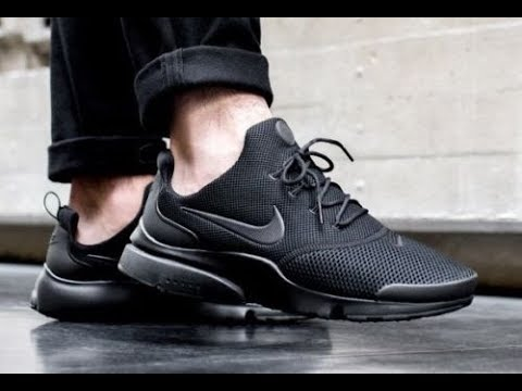 Nike Presto Fly Triple Black - Now On Sale
