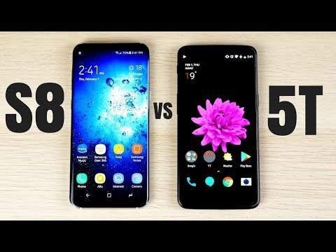 Galaxy S8 Plus vs OnePlus 5T: Full Comparison
