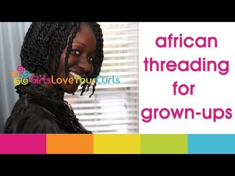 ♥ 41 ♥ African Threading For Grown-Ups! :)