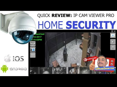 The BEST Mobile Security Camera APP. IP CAM VIEWER. VIEW Cameras From Anywhere!