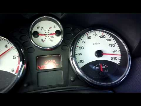 Top Speed Peugeot 207 cc Sport Edition 1.6 HDI 110 Ps [Super HD View]