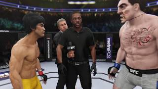 Bruce Lee vs. New Frankenstein (EA sports UFC 3)