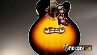Epiphone EJ-200CE Acoustic-Electric Guitar Vintage Sunburst